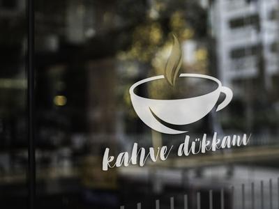 Kahve Dükkanı Logo