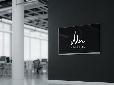 MN Mimarlık Logo mimarlık architecture vector design icon branding logodesign logo