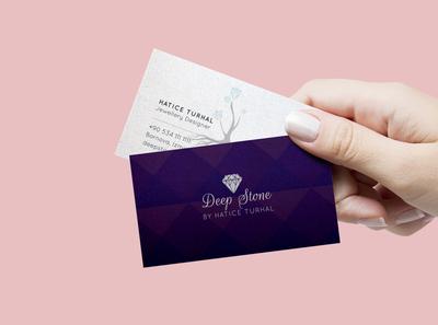 Deep Stone Business Card