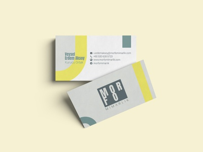 Morfo Architecture Business Cards