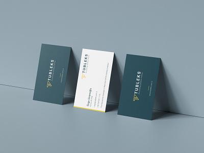 Tubleks Business Card Design accounting finance brand identity business card design businesscard logodesign logo design branding