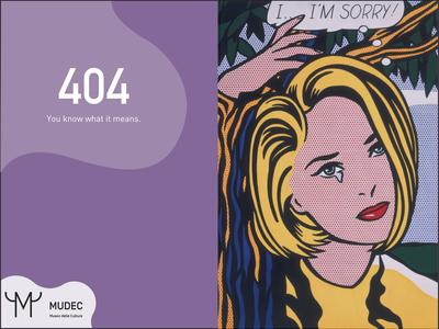404 Museum website