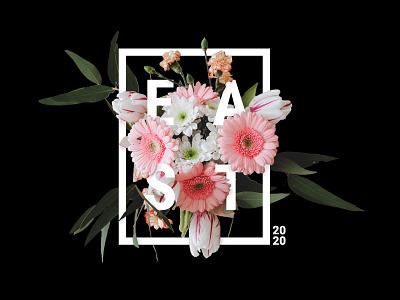 East flowers edit photoshop web webdesign pink black flower east ux icon vector ui design