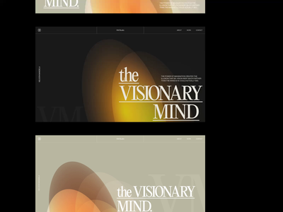 VM — Studio, Composition Search. art direction simple design art typography photo modern website grid branding clean ux minimal ui web layout design whitespace branding design