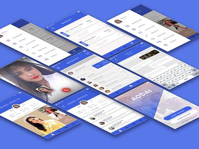 Ao Dai Mobile App visual ux design fashion ui mobile app
