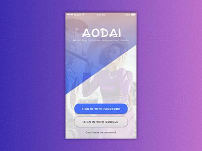 Ao Dai Login Page login page design mobile app ao dai vietnam model fashion