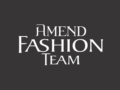 Amend Fashion Team