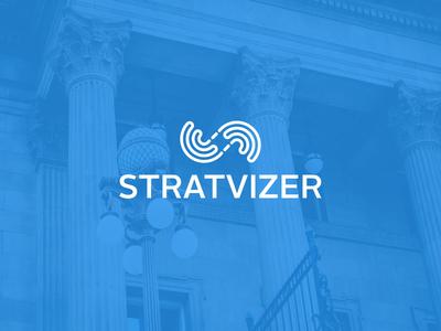 STRATVIZER company logo design
