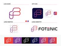 F Letter Mark Logo