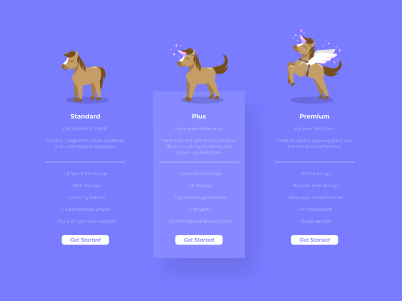 Product illustration challenge: 04 Upgrade upgrade unicorn horse ui product illustration product design warmup design illustration vector adobe illustrator