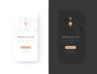 Product illustration challenge: 10 Location location pin location product design ui product illustration vector design warmup illustration adobe illustrator