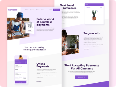 Website Design Concept - Online Payment Processing homepage design home homepage interface ux user experience payment webflow ui user interface web finance website finance website design webdesign website