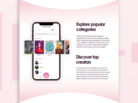 360° Creative Concept for Voicehub voice app music app application rebranding branding logo design app design app website design website webdesign uiux web user experience ui interface
