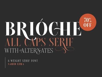 Brioche Font Family