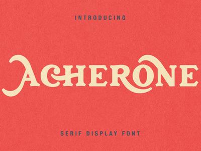 Archerone - Serif Display Font