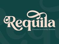 REQUILA - Vintage Serif Font