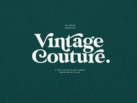 Glamour Absolute - Modern Vintage Font