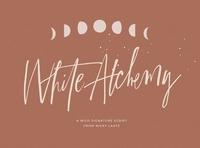 White Alchemy Signature Script Font
