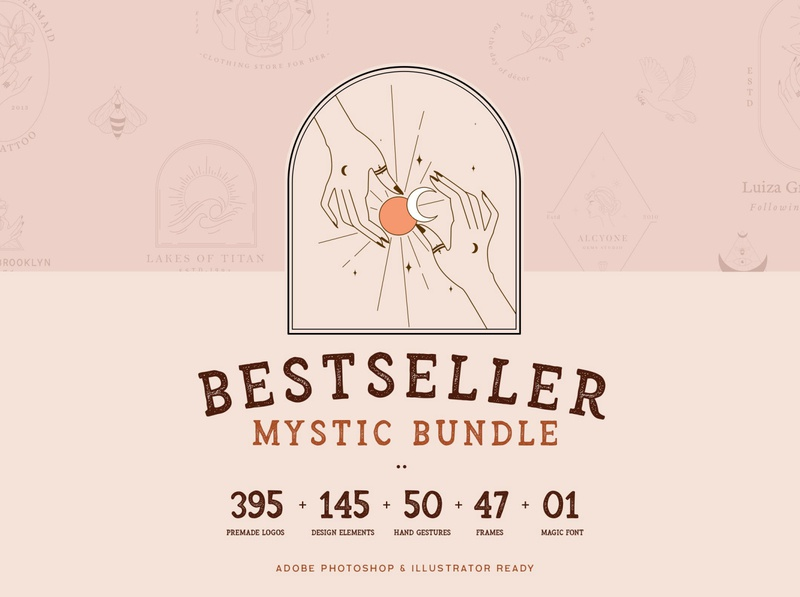 Bestseller Mystic Graphics Bundle 99% OFF