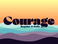 Courage Font logotype download font bold fonts bold font design elegant font classic font display font logo font branding retro font vintage font graphic design lettering typography font design typefaces typeface fonts font