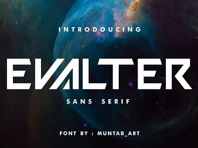 Evalter Sci-Fi Font branding download font sans serif font sans serif design display font logo font logo fonts graphic design lettering font design typography futuristic font modern font typefaces typeface fonts future sci-fi font