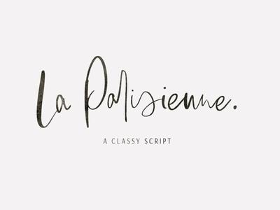 La Parisienne - Classy Script Font