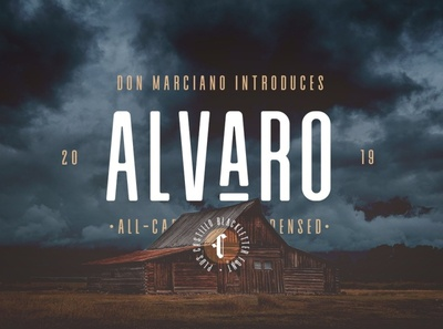 Alvaro Condensed Font