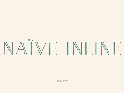 Naive Inline Font Collection