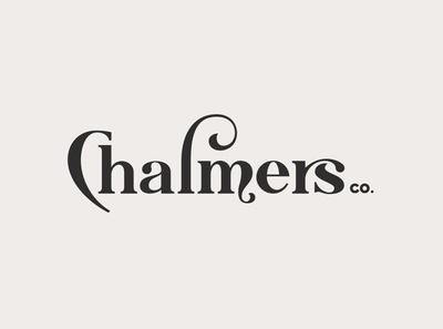 Chalmers Typeface