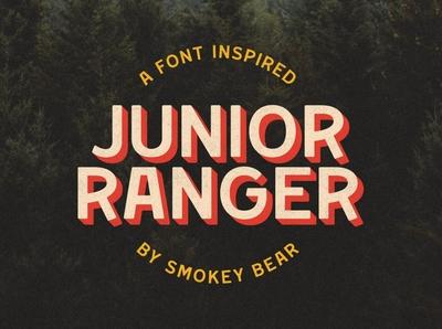 Junior Ranger Font