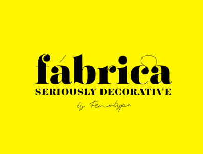 Fábrica - Vintage-Inspired Display Font