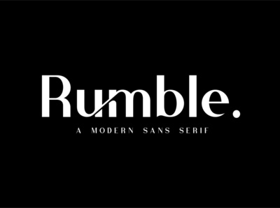 Rumble - Elegant Vintage Typeface