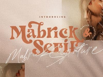 Mabrick - Font Duo
