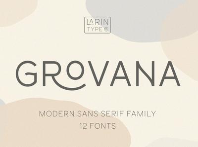 Grovana Font Family