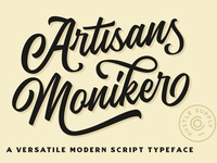 The Artisan's Moniker - Script Font