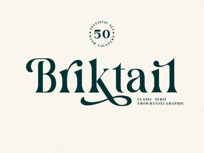 Briktail - Vintage Serif Font