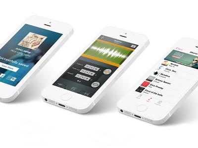 Ringtonium Preview app application screen ios 7