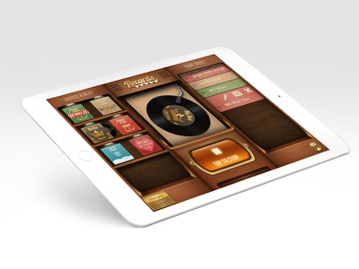 Recards app application screen