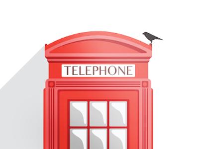 Telephone box london phone flat