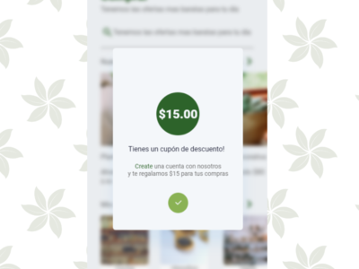 Dribbble Pop Up   Overlay Daily 16 overlay popup dribbble design app dailyui app design ux design ui adobexd