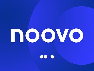 Noovo // TV Channel Logo 2020 icon design dots vector typography illustrator photoshop ux ui gradient 3d motion branding brand tv logo