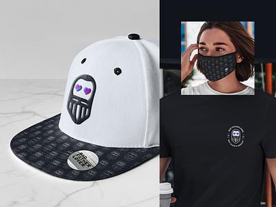 BAD FTLV.   Merch cap mask t-shirts online shop merch design illustration brand vector typography logo mockup photoshop branding ui design