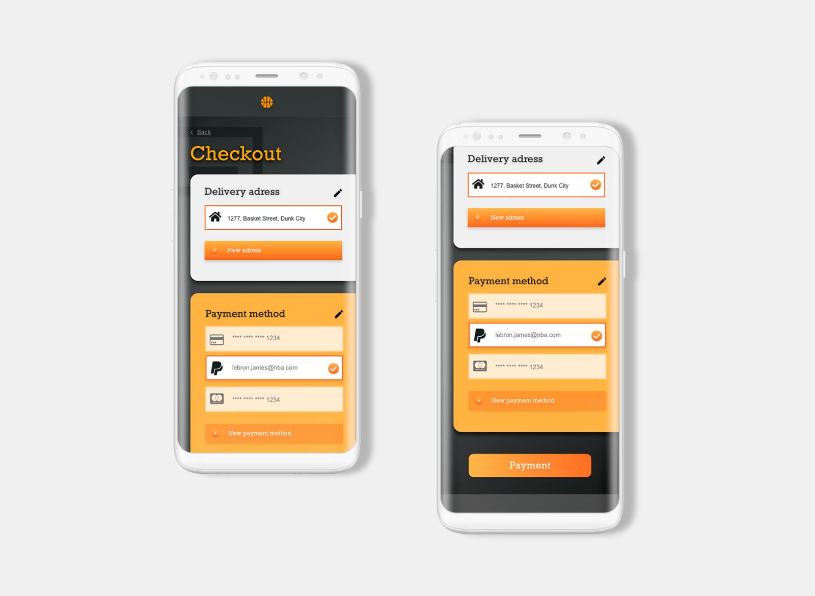 Plan De Travail Mobile daily ui | checkout pageangelique ouellet on dribbble