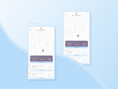 DAILY UI #029 | MAP