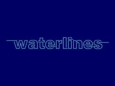 Waterlines (Royal Ulster Yacht Club) design logo