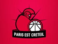 Creteil trojan basketball team logo