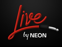 Live by Neon Logo