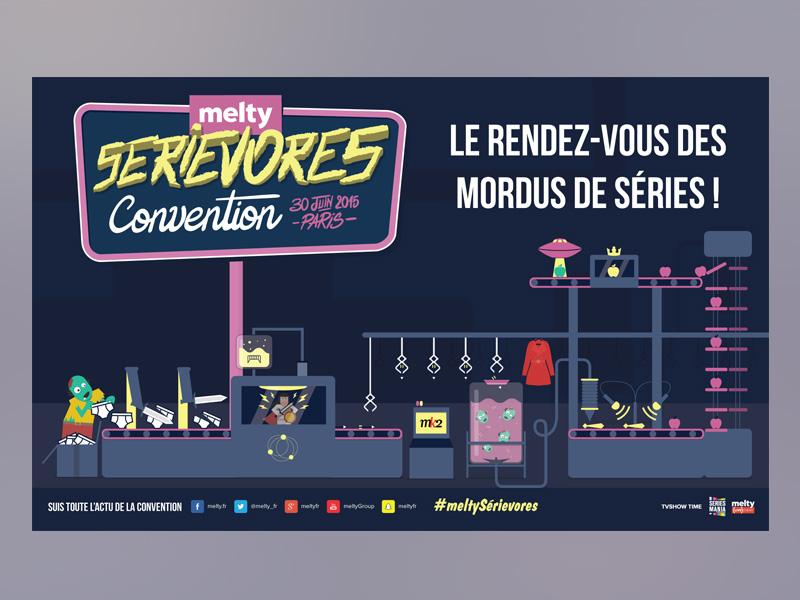 Billboard melty serievores convention