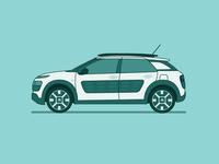 Citroën C4 Cactus illustration