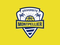Montpellier basketball team logo